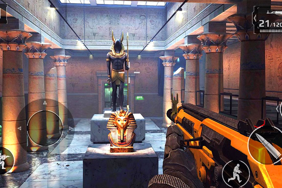 modern combat 5 para PC Egipto