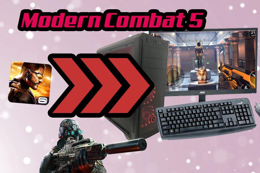 descargar modern combat 5 pc