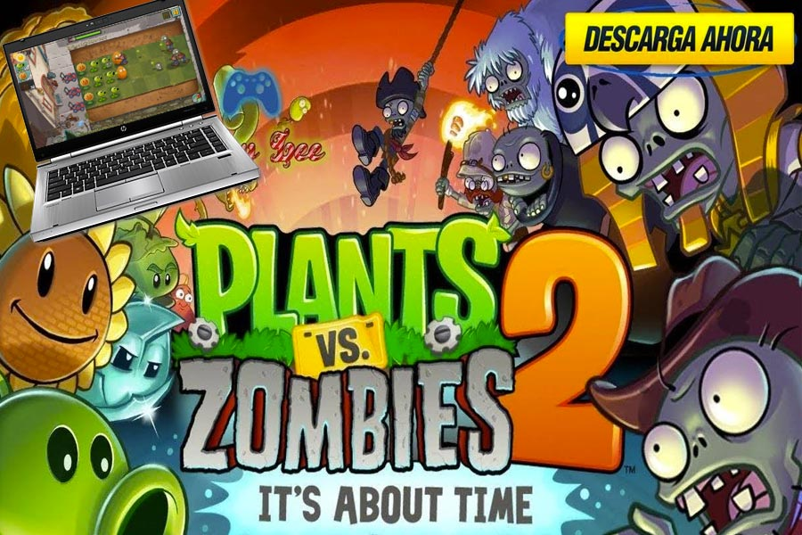 jugar a plants vs zombies 2 en pc