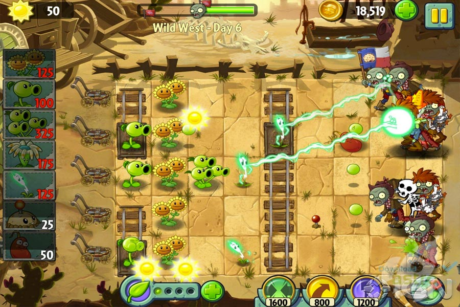 Plants vs Zombies 2 Linux