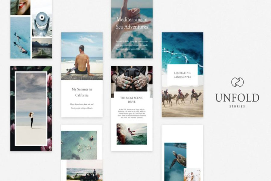 Unfold stories Instagram